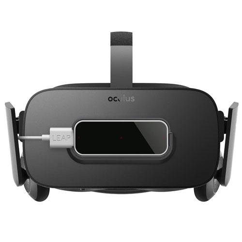 Leap motion Oculus Rift CV1