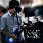 Virtual Reality game – RockBand VR – Oculus Touch