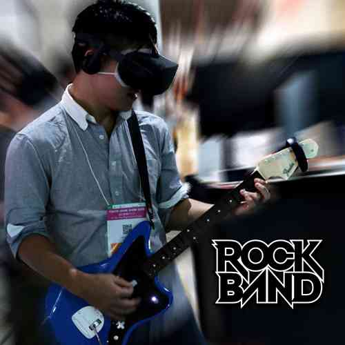 Virtual Reality game - RockBand VR - Oculus Touch