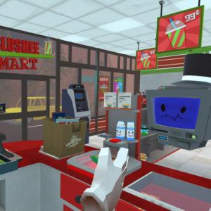 Job Simulator game supermarkt