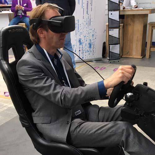 Virtual Reality Race