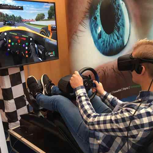 Virtual Reality Race F1 actiepakket huren