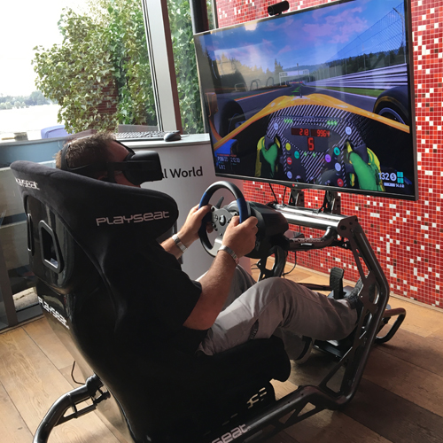 Virtual Reality Race Sensation Pro