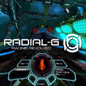 Virtual Reality game - Radial-G Futuristisch racen