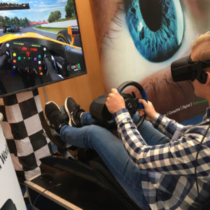 Virtual Reality F1 Race Simulator