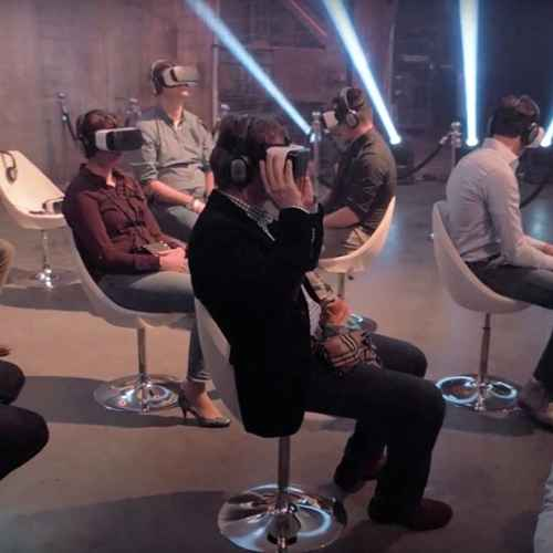 VR cinema - Virtual Reality bioscoop