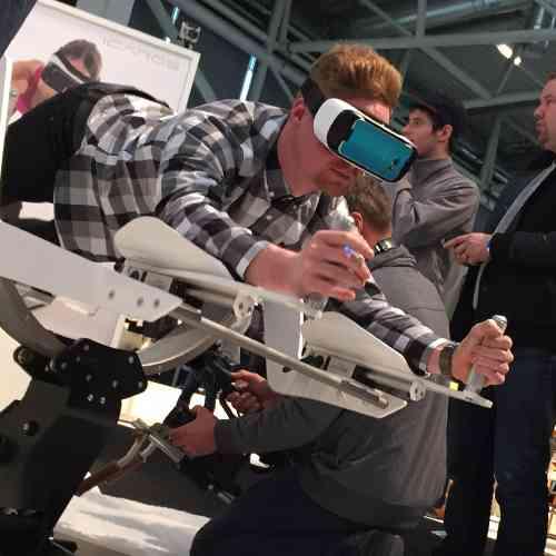 Virtual Reality huren - Icaros Flight simulator
