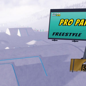 Alpine Ski VR - Freestyle