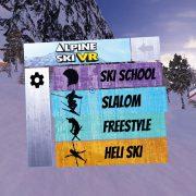 Alpine Ski VR – Minigames -Gameplays
