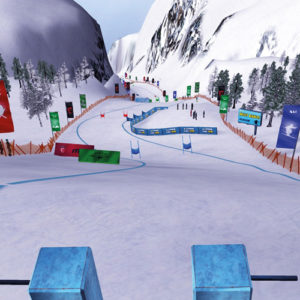Alpine Ski VR - Parcours