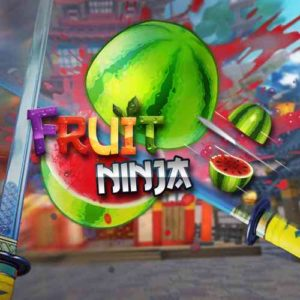 Virtual Reality game -Fruit Ninja VR