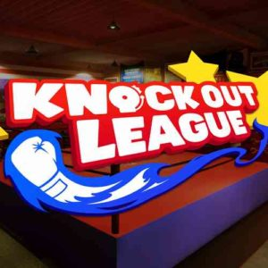 Virtual Reality game - Knock out league VR boksen