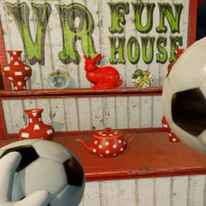 Virtual Reality game - VR funhouse