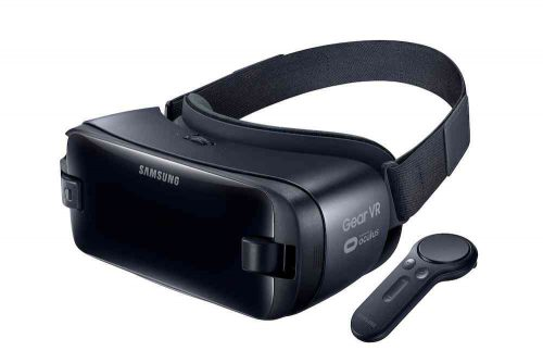 Virtual Reality nieuws - Samsung Gear VR met controller