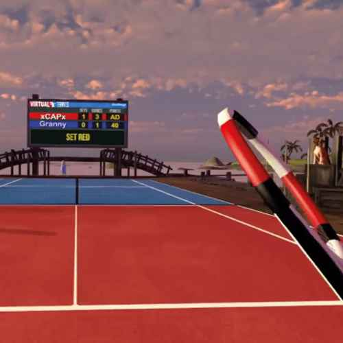 Virtual Sports - Tennisracket