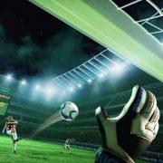 Penalty schieten in VR
