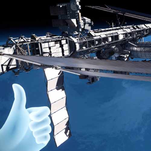 VR Travel - ISS