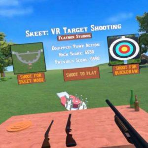Virtual Reality Schiet Simulator