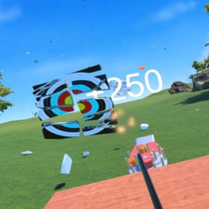 Virtual Reality Target Shooting
