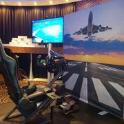VR Flight Simulator op evenement – Oculus Rift